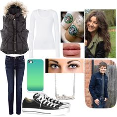 """""""Starbucks with Liam (winter)"""" by bayleenicole97 on Polyvore"""