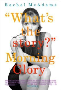 Morning Glory 2010 is not a RomCom. Don't be fooled. It is the story of News anchor at the end of his career and a young beautiful Executive Producer at the beginning of her career. They butt heads but by the end of the film they learn to live their lives while letting love in, the missing component that makes life bearable. Romance elements are secondary. Regardless, a solid watch and McAdams is great. Reminded me of an updated Broadcast News 1987. Check it out.