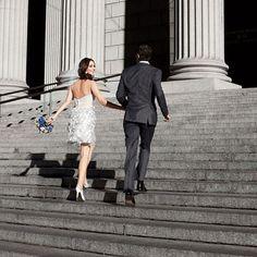 Brides: A Short Story: Flirty, Glamorous Short Wedding Dresses