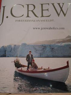 Vintage J Crew Catalog Cover