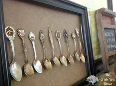 3 Minute DIY Spoon Art. There's a trick to make it extra easy and cute!