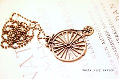 Old Bike Necklace