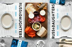 """Russ & Daughters, NYC, #USA. """"...this is THE place to get New York Jewish delicacies, like smoked fish, rugelach, and babka. Go for the bagel board with all the fixings."""" #restaurant"""