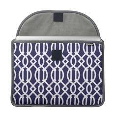 =>Sale on          Navy Blue Modern Trellis Pattern MacBook Pro Sleeve           Navy Blue Modern Trellis Pattern MacBook Pro Sleeve We have the best promotion for you and if you are interested in the related item or need more information reviews from the x customer who are own of them before ...Cleck Hot Deals >>> http://www.zazzle.com/navy_blue_modern_trellis_pattern_macbook_sleeve-204352179284883610?rf=238627982471231924&zbar=1&tc=terrest