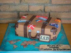 Tutorial: Suitcase Cake / Koffertorte Videoanleitung für eine Koffertorte