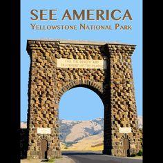 Yellowstone National Park by Zack Frank  #SeeAmerica