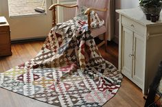 Quilting with the Past : A finish and a very nice gift