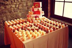 cupcake collection, nashville, board game wedding cake, reception