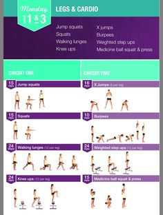 Kayla Itsines Weeks 1 & 3 Monday