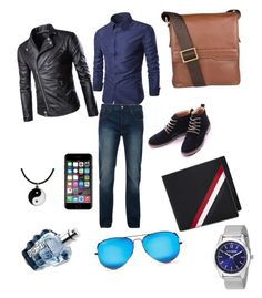 """""""Fayzaan's  look"""" by raeesabanu-rbm on Polyvore featuring Bellfield, Steve Madden, Hidesign, Thom Browne, Ray-Ban, Off-White, Diesel, Carolina Glamour Collection, men's fashion and menswear"""