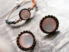 bracelet & earrings #bracelethandmade  #bracelet  #braceletmacrame  #bracelets  #salmoncolor  #plexiproject  #handmadebracelet  #uniquehandmadejewelry  #earringlover  #earring  #earringstyle  #earringaddict  #accessorize  #fashionjewelry  #fashionlove  #autumn  #autumnshopping #handmadebracelet  #handmademacramebracelet  #shopingtime  #shoppingjewelry #bohojewelry Macrame Bracelets, Handmade Bracelets, Boho Jewelry, Jewelry Shop, Fashion Earrings, Fashion Jewelry, Salmon Color, Plexus Products, Autumn