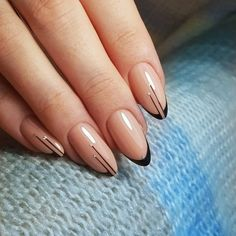 The advantage of the gel is that it allows you to enjoy your French manicure for a long time. There are four different ways to make a French manicure on gel nails. Glam Nails, Nail Manicure, Pink Nails, Cute Nails, Pretty Nails, Beauty Nails, Nail Polish, Elegant Nails, Classy Nails