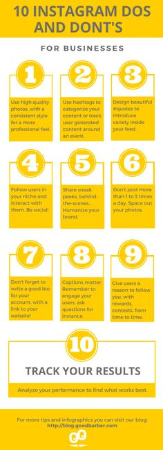 [ Infographic ] 10 Instagram Dos and Don'ts for Businesses #Instagram #socialmedia #engagement #strategy #marketing #Infographic Apps, Free Instagram, Effective Communication, How To Speak Spanish, Get Healthy, Social Media, Marketing, Business, Engagement Strategy