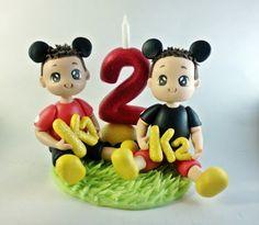 Melissa Artesanato : Topo de Bolo Mickey  Esses fofinhos aqui são dois...
