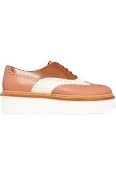 Tod's - Leather Brogues - Tan - IT