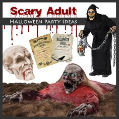 Scary adult Halloween party ideas