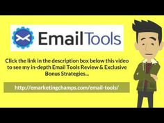 Email Tools Review - https://www.youtube.com/watch?v=TetOyjcEfx0 - Email Tools Bonus - You are encouraged to write non-time sensitive content such as short tips, mini stories, and interviews. Doing so enables you to create content in advance so that you can conveniently dispense it to your subscribers at a later date.