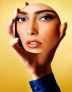 Christopher Kolk Beauty Inspired by Richard Phillips by GFR , via Behance
