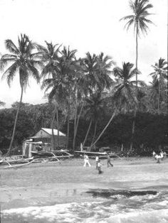 #ThrowbackThursday - Ho`okena Beach Park, 1936. A historical site, one of the last fishing villages in Hawai'i. It features an exotic blend of fine gray coral and white sand, with ocean and scenic views. Visit their website http://www.hookena.org/ for more information. #LuxuryBigIsland