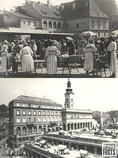 Tržnica Dolac u svojim ranim danima. #ZagrebFacts #Dolac #Zagreb #OldZagreb