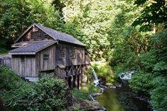 Grist Mill, Woodland, Washington