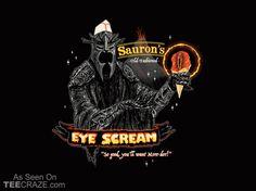 Eye Scream T-Shirt - http://teecraze.com/eye-scream-t-shirt/ -  Designed by Wytrab8    #tshirt #tee #art #fashion #clothing #apparel