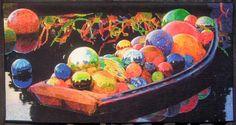 Chihuly's Gondola by Melissa Sobotka from Richardson, Texas.  Houston Fall 2013.  $10,000.00 Best of Show.