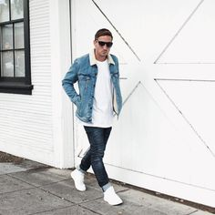 Street Style in the Adonis Mid White with @NikkoDeTranquilli.