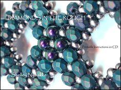 Diamonds in the Rough Bracelet DIY Kit    by SturdyGirlDesigns