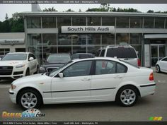 2004 Bmw 325xi | 2004 BMW 3 Series 325xi Sedan Alpine White / Grey Photo #