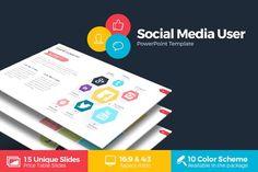 Social Media User Powerpoint @creativework247