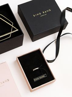 Bing Bang Jewelry Branding & Packaging Design by Verena Michelitsch