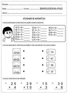 Atividades matemática 2° anos problema