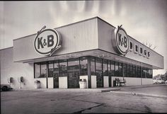 A 1970's K&B Drug store in New Orleans. Memories...I remember them In Shreveport. Was sad when they closed.