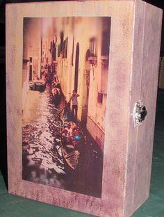 """My decomania: Box """"Venice"""" Scatola """"Venezia"""""""