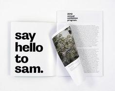 """Say hello to sam"" 2012 annual exhibition grogram Say Hello, Art Museum, Sayings, House, Lyrics, Home, Museum Of Art, Homes, Houses"