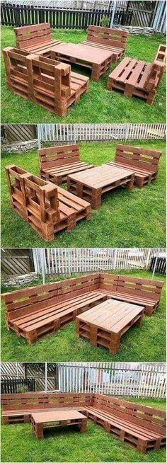 34 ideas de muebles para patio