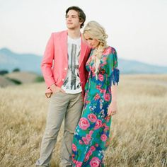 Such pretty photos from this laid back California engagement session from Jose Villa!