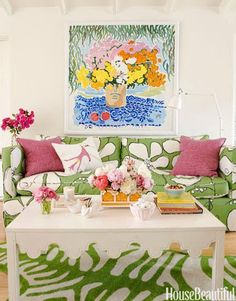 "I think it is fair to say I'm obsessed with all things Palm Beach Chic, and with Lilly Pulitzer, the style icon whose name is synonymous with Palm Beach… So you can imagine my sheer delight when Lilly's PR department contacted me last week, asking if I would like to guest Pin ""Palm Beach Chic Décor"" for the Lilly …"