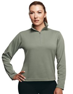 Womens Poly Ultracool Pique Pullover Shirt. Tri mountain 652