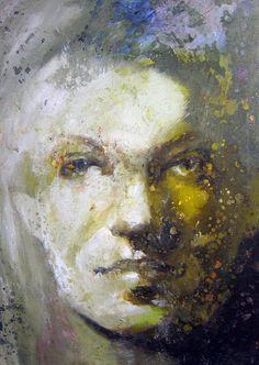 Portrait 71 - Acrylic On Canvas