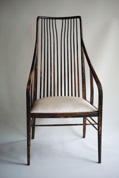 Sun and Moon Chair (Kurogaki) Type B