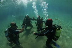 Learning to dive with ScubAndros in Greece