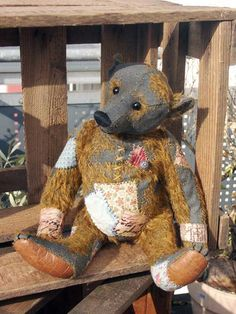 Dufeu-Bear, artist bear and stuffed animals for lovers and collectors