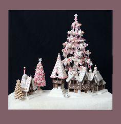 <3 Chocolate Shop Display, Christmas | Little Houses