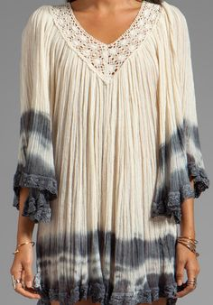 Nuevo Stevie Dress- Again, diggin this but not as a dress.  Need some cool jeans with it.  However; I am pretty short so maybe....