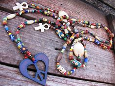 Nearly Nairobi Necklace ~ this item is already spoken for, but is a good example of the culturally inspired jewelry the Desert Hippie revels in creating. Desert Hippie Originals is on Etsy...come check her out!