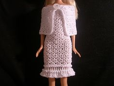 Crochet for Barbie (the belly button body type) free pattern