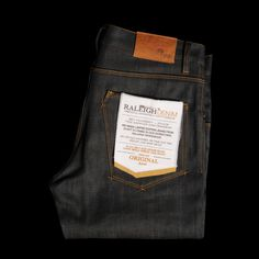 UNIONMADE - Raleigh Denim - Original Raw Thin Fit ($200-500) - Svpply