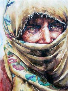Görsel Sanatlar: Sanatçılardan suluboya çalışmaları...